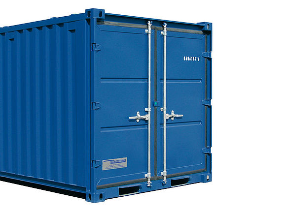 Rahmer Mietservice Seecontainer