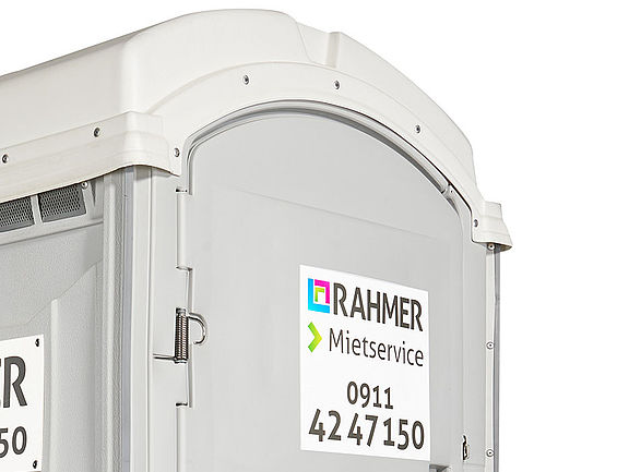 RAHMER Mietservice Mobil WC